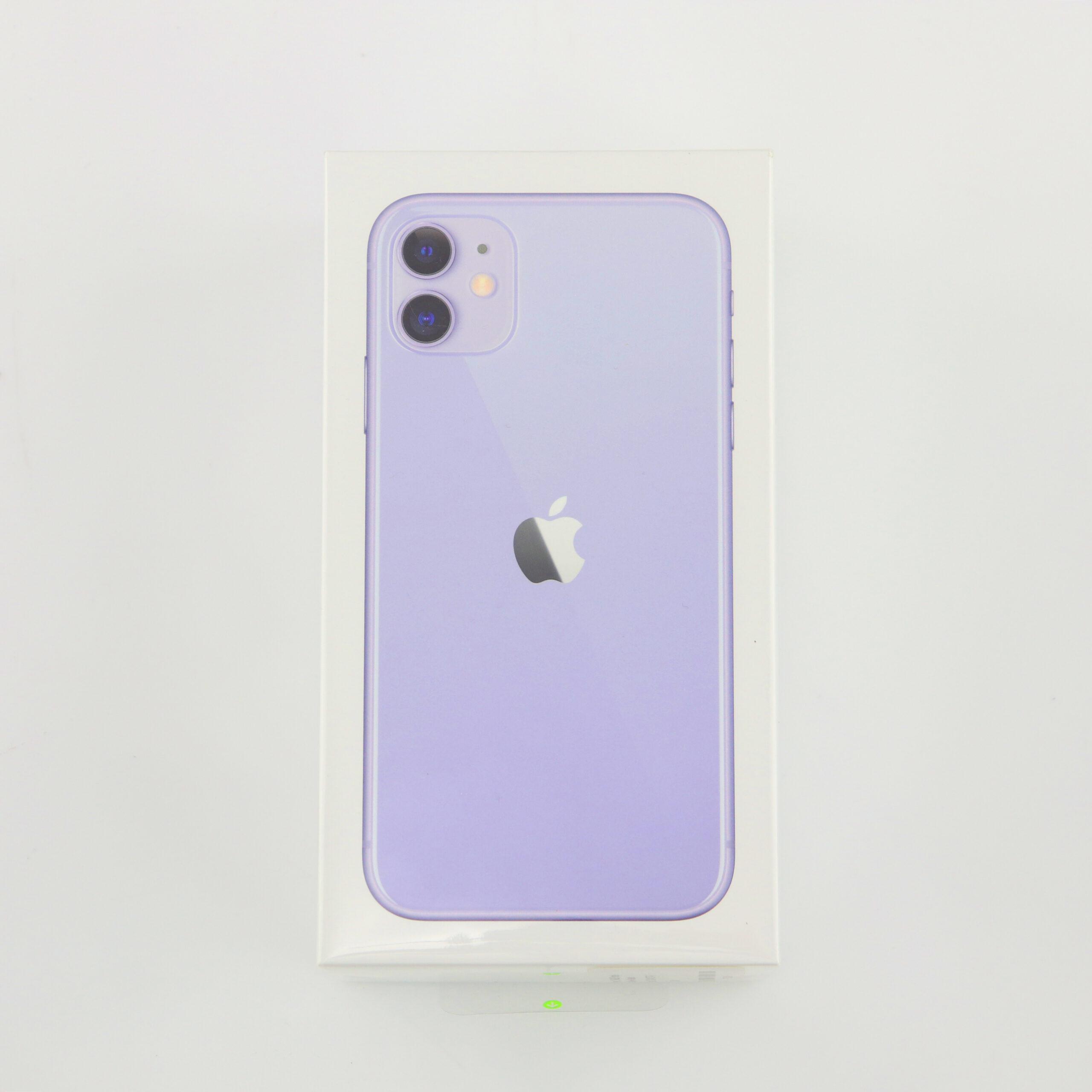 1 x Apple iPhone 11 (Unlocked) 64GB Purple (BRAND NEW)