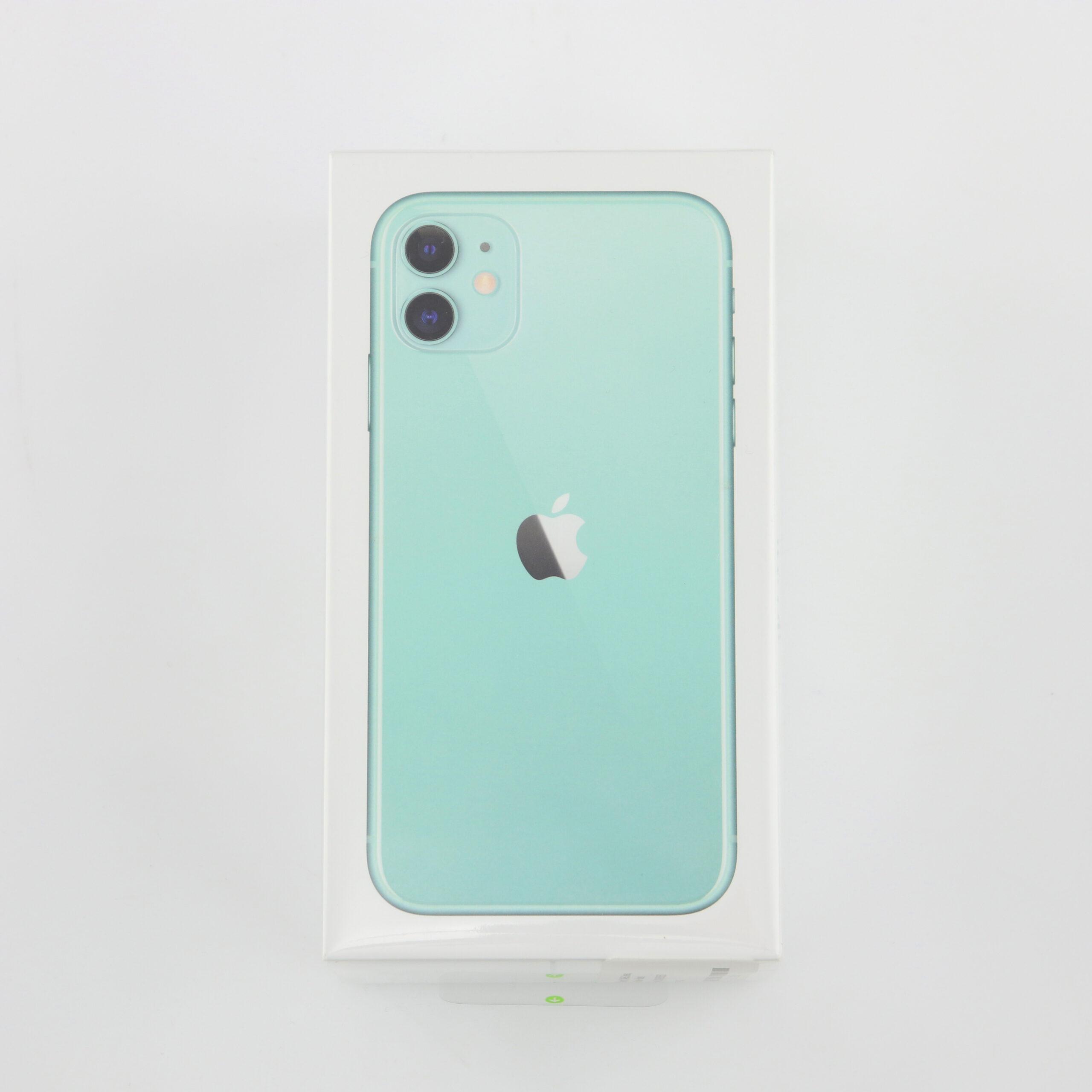 1 x Apple iPhone 11 (Unlocked) 64GB Green (BRAND NEW)