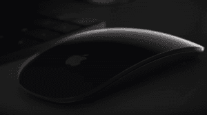 The new space grey Apple iMac Pro magic mouse 2